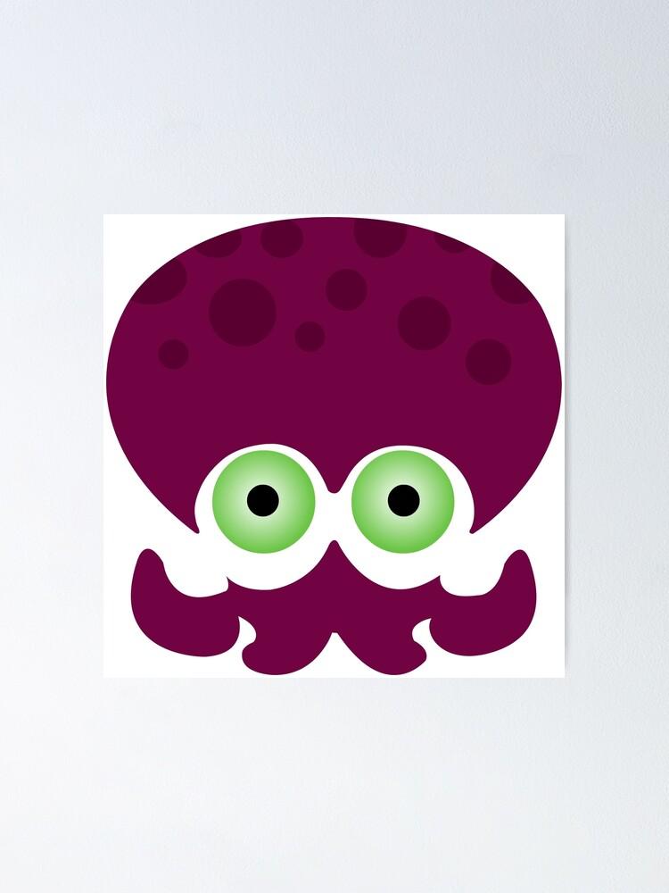 Alternate view of Splatoon - Octopus Logo Poster