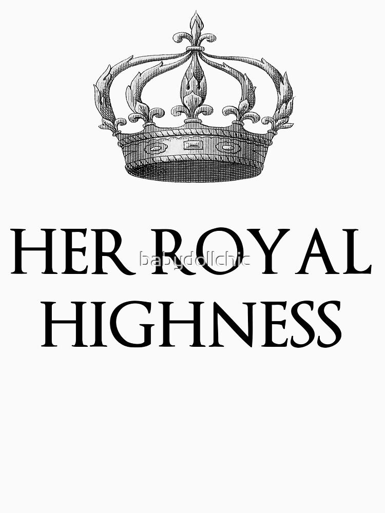 Her Royal Highness by babydollchic