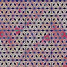 Asterisk Pattern 2 by Cveta