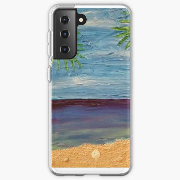Ocean Scene Painting Samsung Galaxy Soft Case