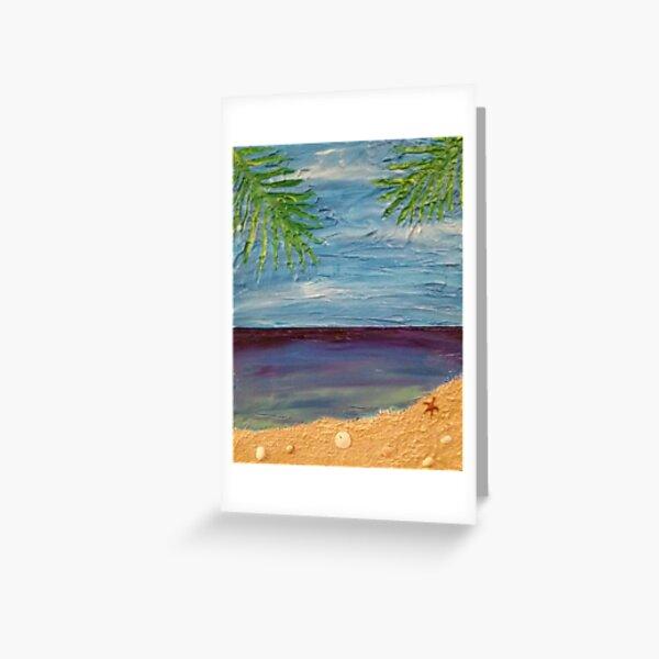 Ocean Scene Painting Greeting Card