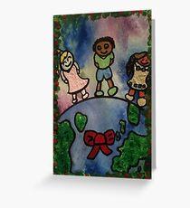 Children Around the World Greeting Card