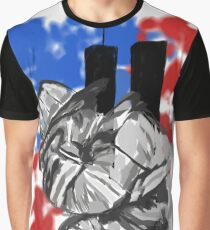 Tribute to the Heroes of 9/11 Graphic T-Shirt