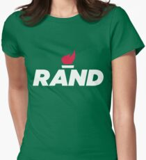 RAND - Rand Paul Womens Fitted T-Shirt