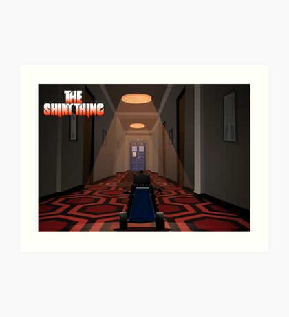 The Shiny Thing 2 Art Print