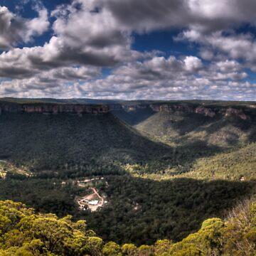 Wolgan Valley - HDR Panorama by scatrdjason