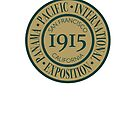 1915 Panama-Pacific International Exposition by Urso Chappell