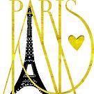 I Love Paris by mindydidit