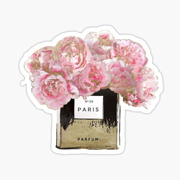 Pink Scented Sticker