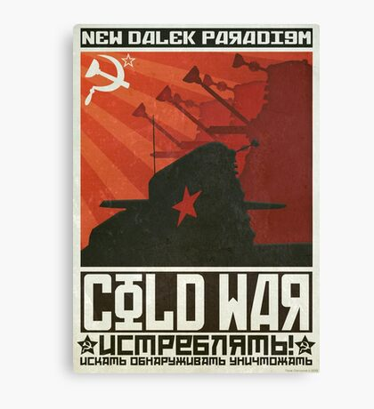 Cold Time War Canvas Print