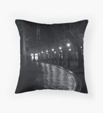 Rainy Night II Throw Pillow
