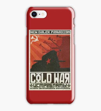Cold Time War iPhone Case/Skin