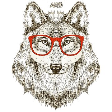 Wolf glasses by StivG00