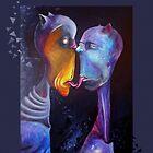 Popsurreal Art - Painting: Züngelei by simonehah