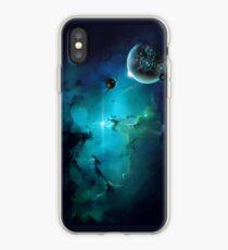 Vinilo o funda para iPhone Cybertron nebulae