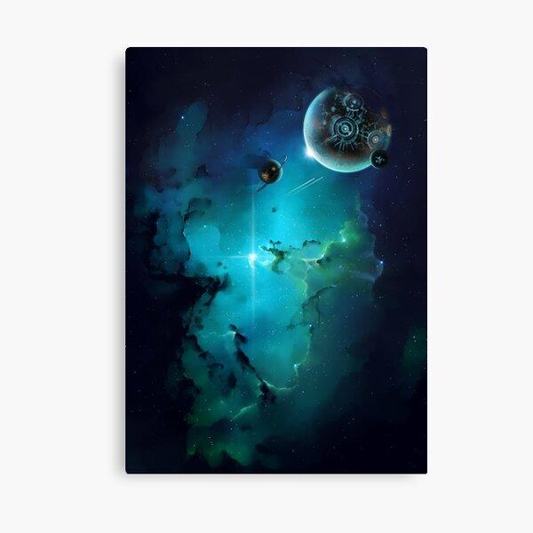 Cybertron nebulae Canvas Print