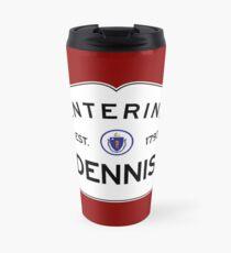 Entering Dennis - Commonwealth of Massachusetts Road Sign Travel Mug