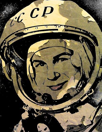 Kosmonaut Valentina Tereshkova (alt) von IMPACTEES