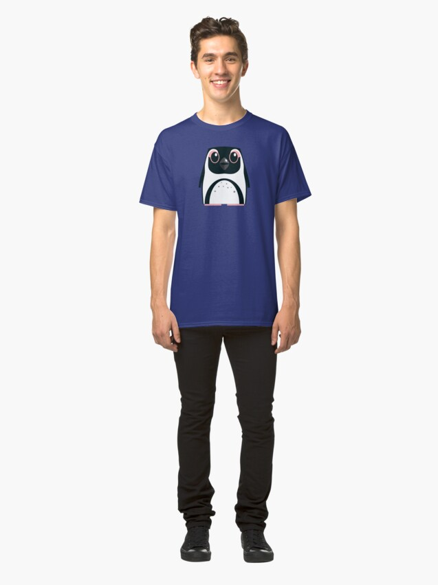 Alternate view of African Penguin - 50% of profits to charity Classic T-Shirt