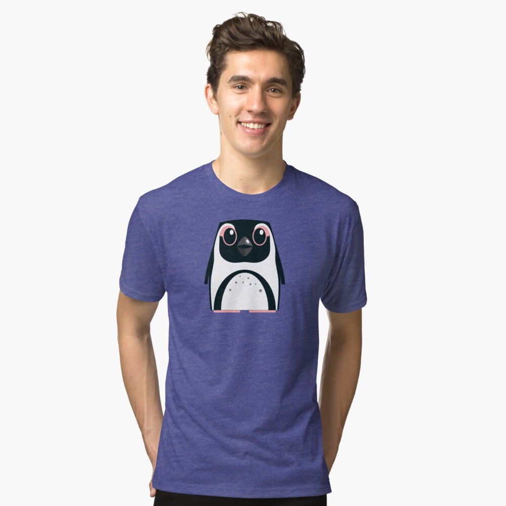 African Penguin - 50% of profits to charity Tri-blend T-Shirt