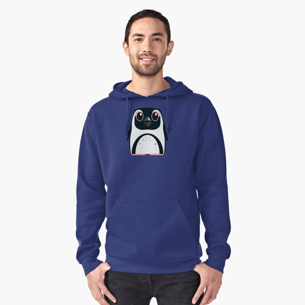 African Penguin - 50% of profits to charity Pullover Hoodie Front