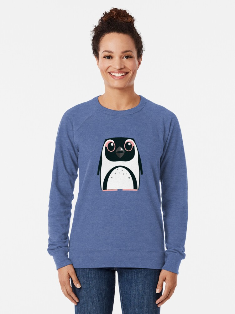 Alternate view of African Penguin - 50% of profits to charity Lightweight Sweatshirt