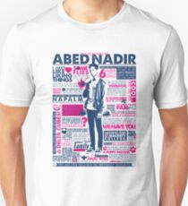The Wise Words of Abed Nadir Unisex T-Shirt