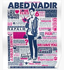 The Wise Words of Abed Nadir Poster