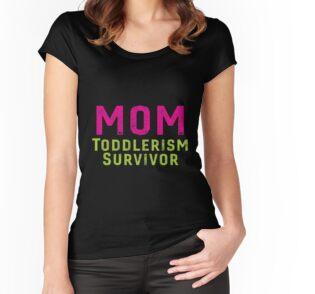 29c78be54 Tarjetas de felicitación «MOM Toddlerism Survivor Toddler Funny Cute ...