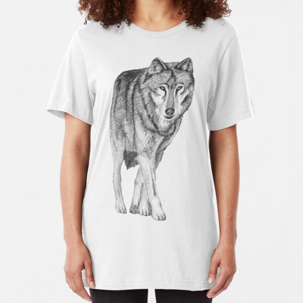 Wolf walk Slim Fit T-Shirt