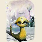 Illustration - winter fur by simonehah