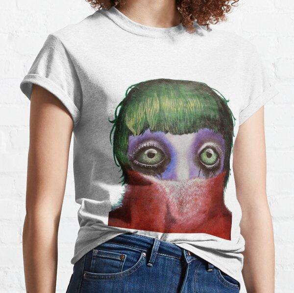 Big Green Eyes Classic T-Shirt