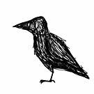 Crow by fourfourfour