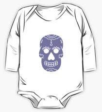 Purple skull One Piece - Long Sleeve