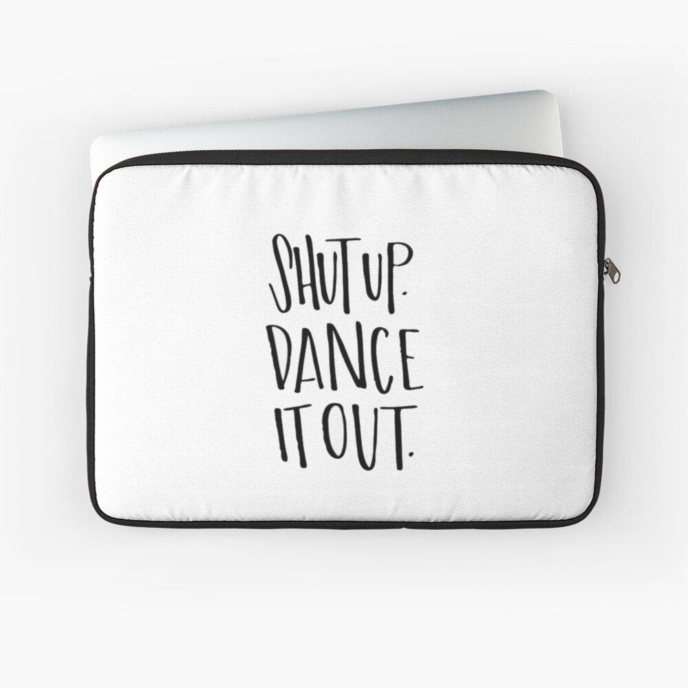 Mertina; Tanz Es raus! Laptoptasche