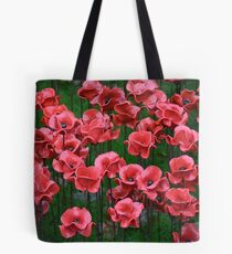 Ceramic Poppies Tote Bag