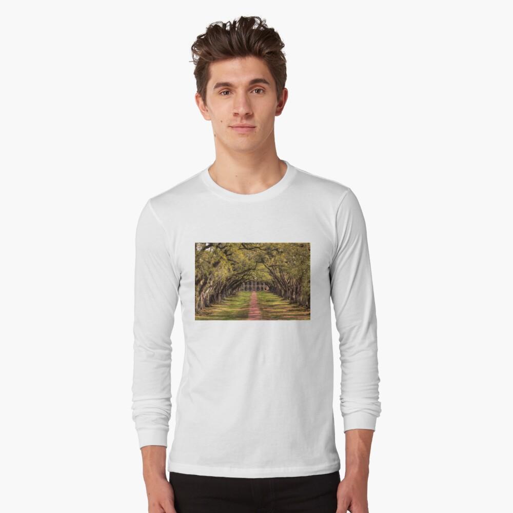 Oak Alley Long Sleeve T-Shirt Front
