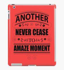 Never Ceasing to Amaze - Novelty  iPad Case/Skin