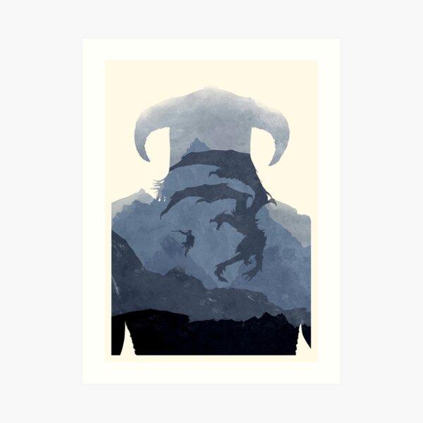 Dragon (No Text) Art Print
