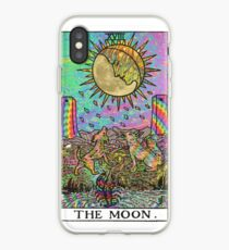 Psychadelic Tarot- The moon iPhone Case