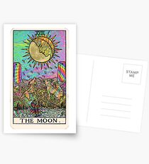 Psychadelic Tarot- The moon Postcards