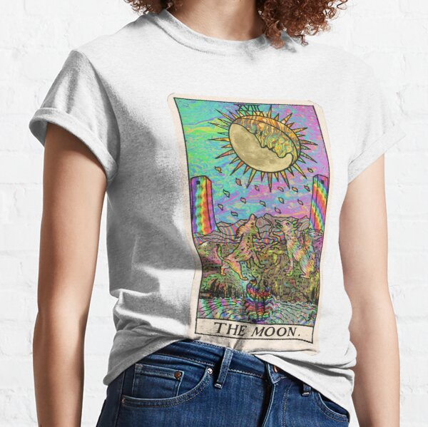 Psychadelic Tarot- The moon Classic T-Shirt