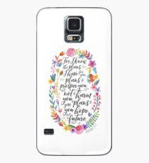 Hoffnung und eine Zukunft | Jeremia 29:11 Hülle & Klebefolie für Samsung Galaxy