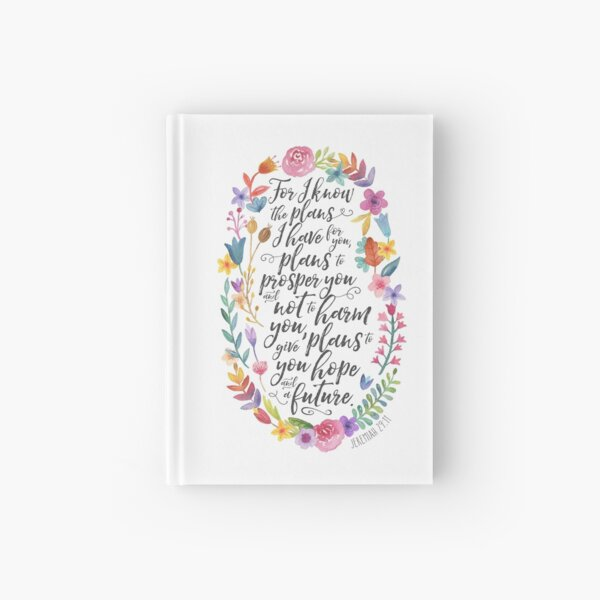 Hope and A Future | Jeremiah 29:11 Hardcover Journal
