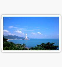 Buddha statue, Hainan Island, China Sticker