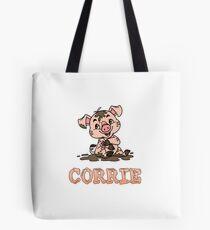 Corrie Piggy Tote Bag