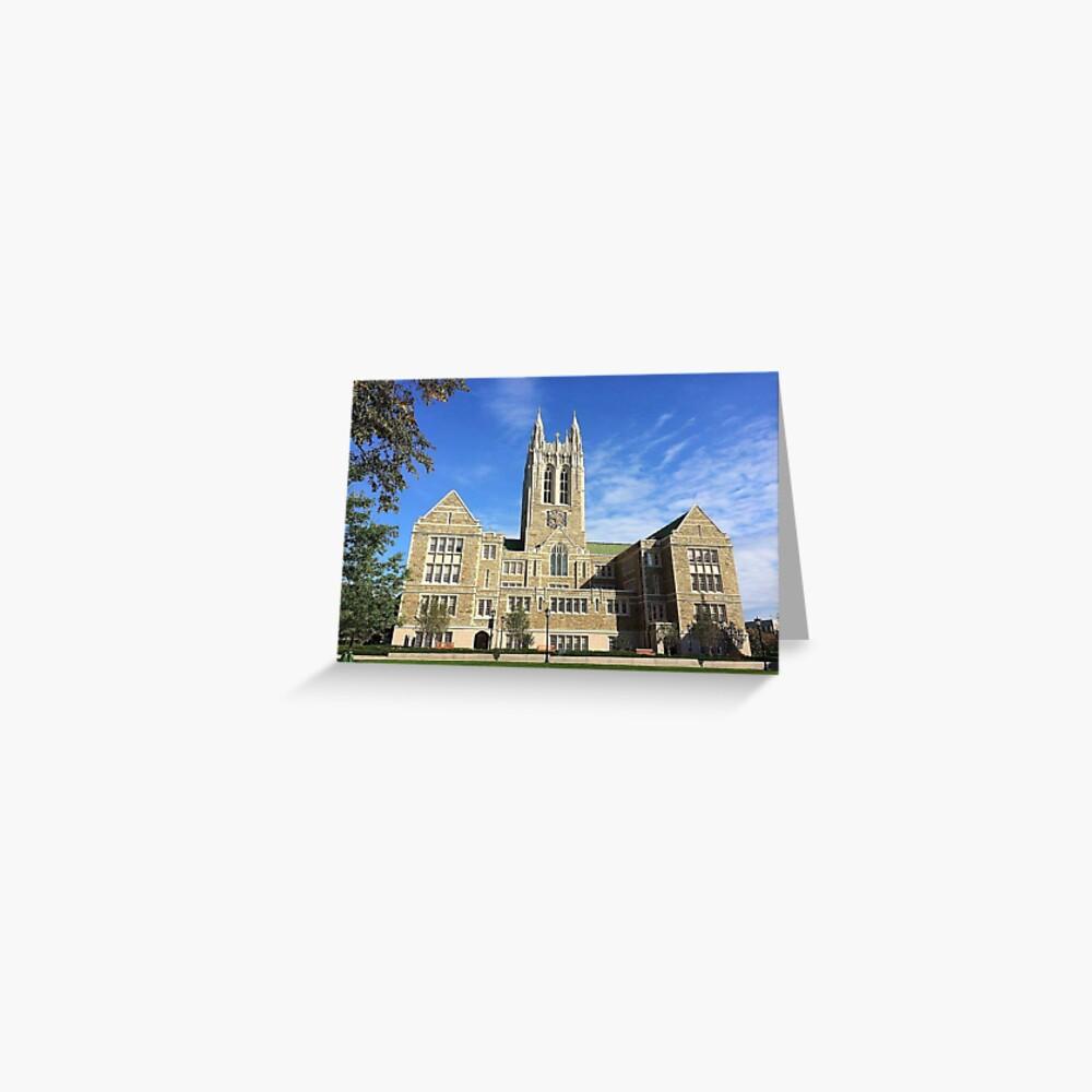 Boston College Greeting Card-2