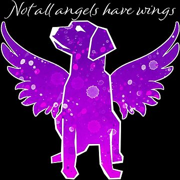 Not All Angels Have Wings (pink filled) by Brianna-Designs