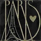 I Love Paris II by mindydidit