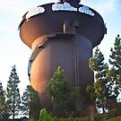 San Diego Water Tower by Heather Friedman